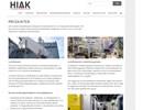 HIAK produkter på webbplats