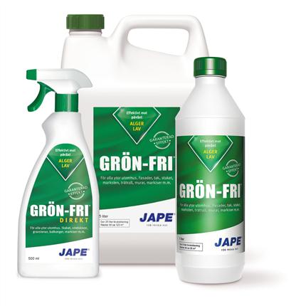 Jape Grön-Fri fasad- och takrengöring