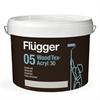 Flügger Wood Tex Uteakrylat fasadfärg