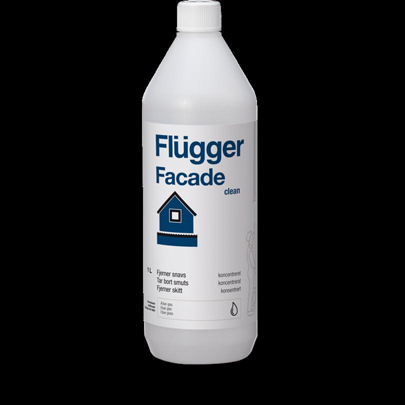 Flügger Facade Clean rengöringsmedel, 1 liter