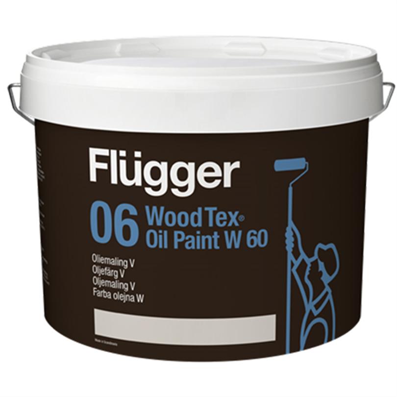 Flügger Wood Tex Oljefärg V, 10 liter