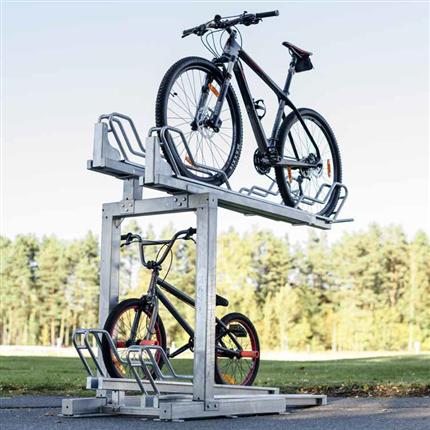Axelent Safe-Ex cykelställ i två våningar