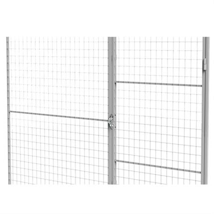 Axelent Förrådssystem F, dörr och väggsektion