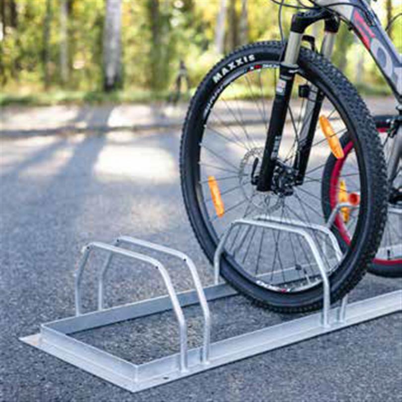 Axelent cykelställ Safe-X för markplacering