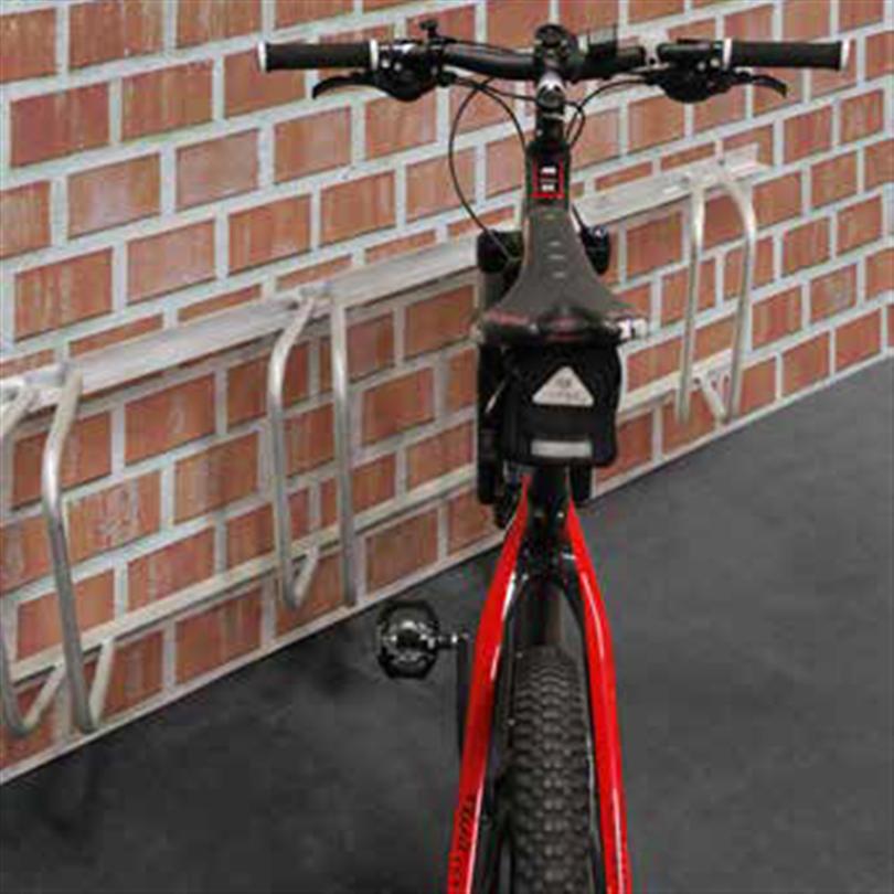 Axelent cykelställ Safe-X 45 grader för väggmontering