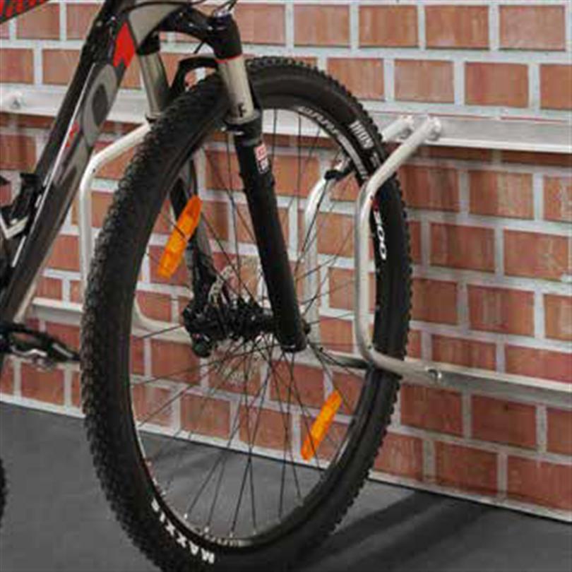 Axelent cykelställ Safe-X 90 grader för väggmontering