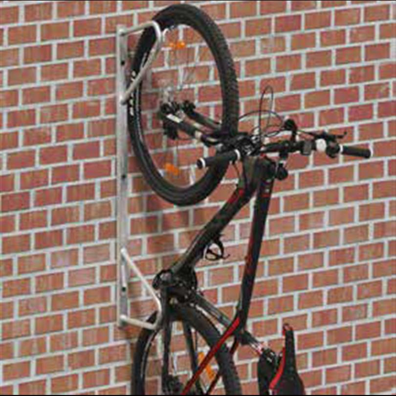 Axelent hängande cykelställ Safe-X för väggmontering