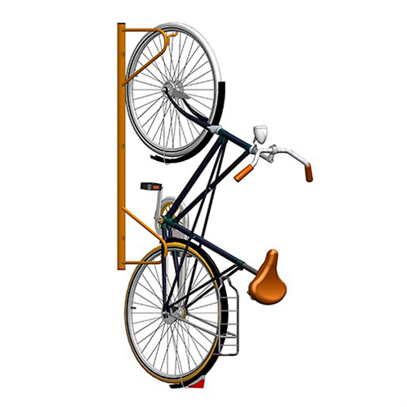 Axelent Cykelställ att hänga på vägg