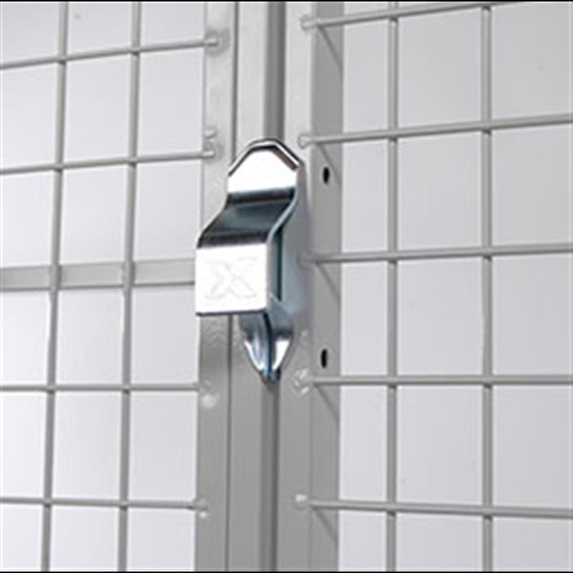 Axelent förrådssystem FK, låsdetalj