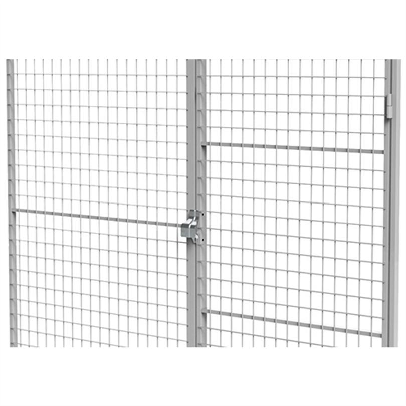 Axelent Förrådssystem FK, dörr och väggsektion