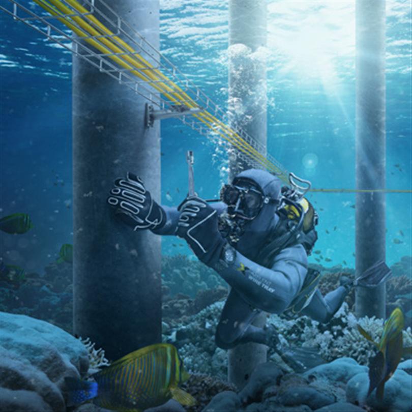 Axelent X-Tray trådstegar Offshore