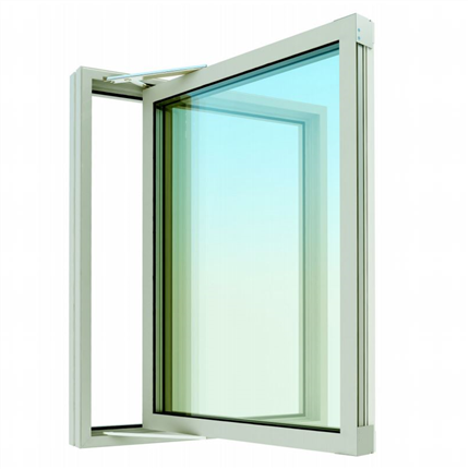 HASS sidostyrt utåtgående fönster