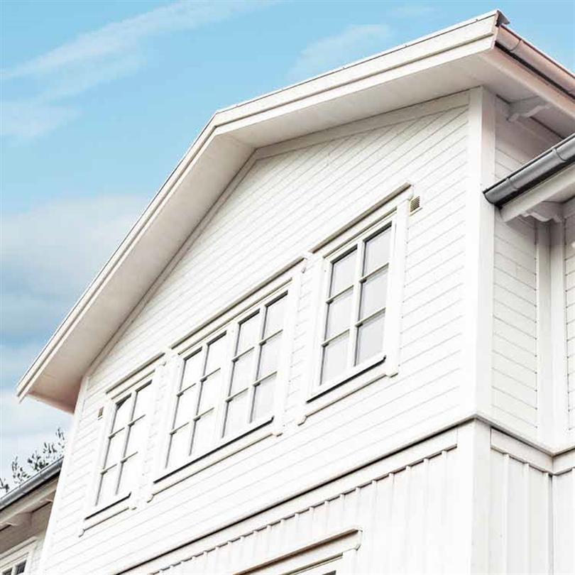 H-Fönstret Lysekil Fasta fönster villa 6