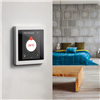 KNX D-Life termostat på vägg