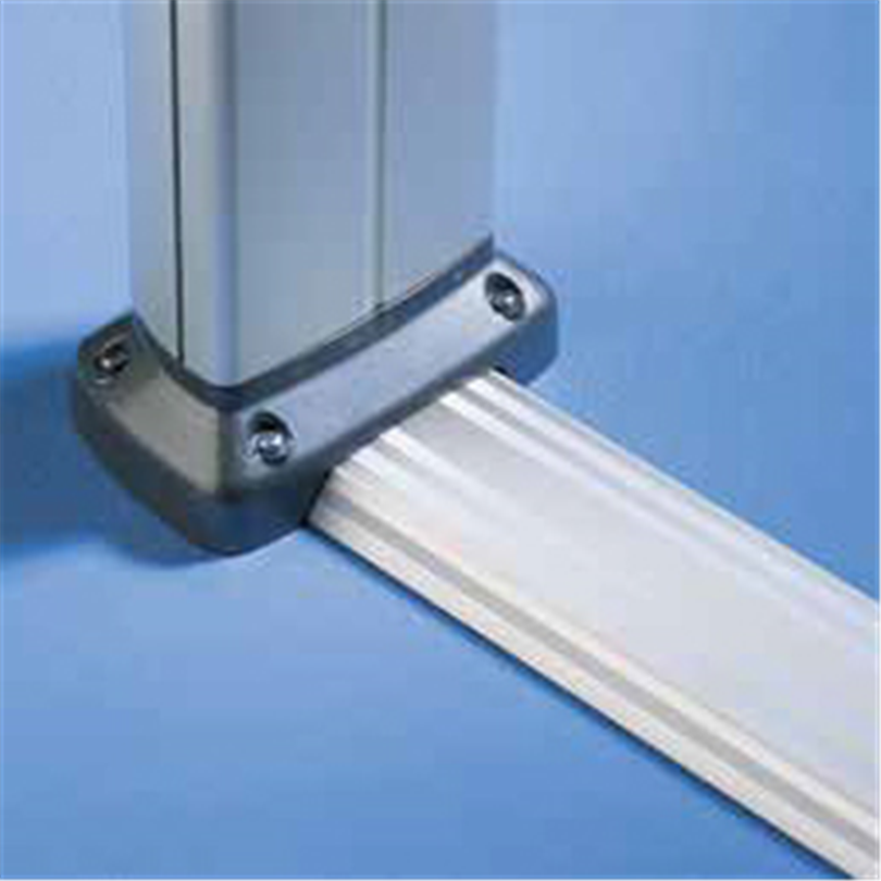 Thorsman POS-FN golvfäste med kabelutlopp
