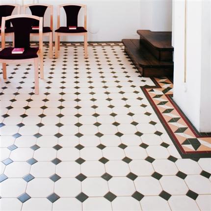 Byggfabriken Victorian Floor Tiles klinker
