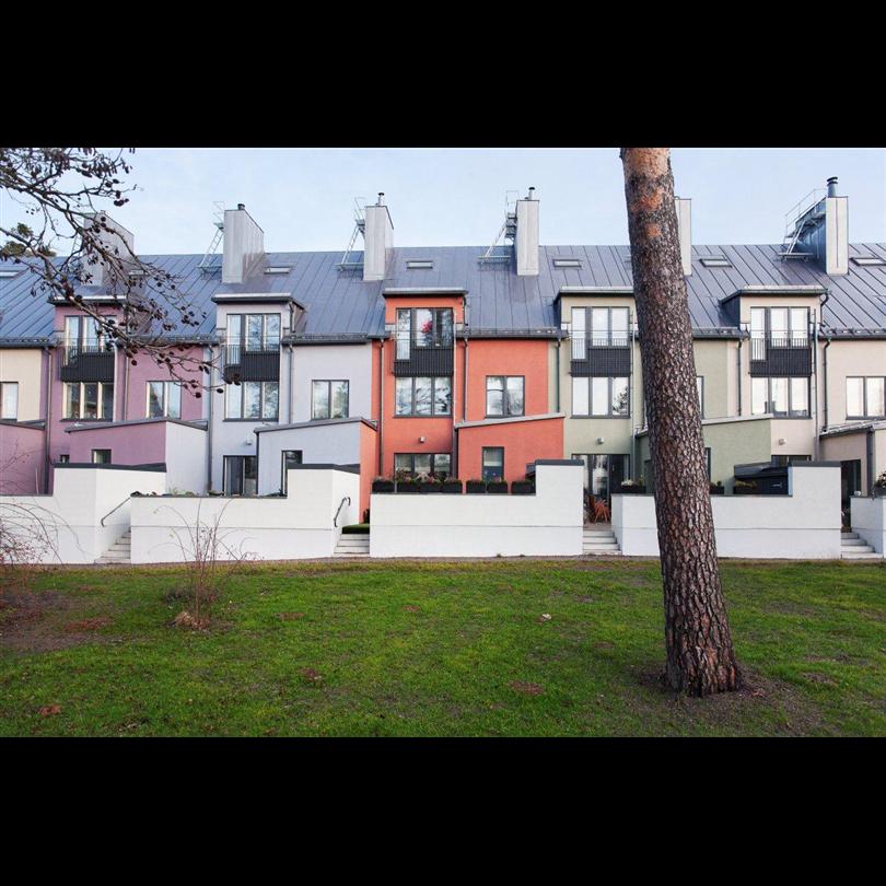 Norrlands Trähus ytterväggar