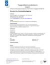 Zincotech Au Typgodkännandebevis 0168/07