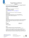 Zincotech Ag Typgodkännandebevis 0167/07