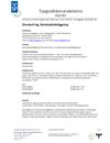 Zincotech Ag, Rostskyddsbeläggning, tg nr 0167/07