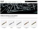 Spån-, golv- och listskruv på webbplats