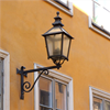 Kulturbelysning lykthus Gamla stan med väggfäste gamla stan.