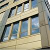 Plan fasadkassett av aluminiumplåt, fasadbeklädnad