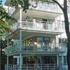 Hogstad balkongräcken med framkantsbalk