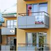 Hogstad balkongräcken, Standardräcken