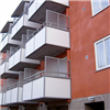 Hogstad balkongsystem, plattor