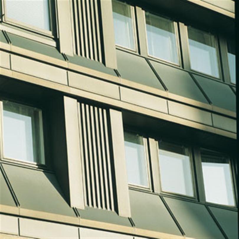Fasadkassett av aluminiumplåt, för fasadbeklädnad