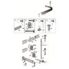 Leijma STABIL duschdraperiskena vinkel med takpendel