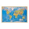 Ramex Världskartor i färg och träram