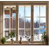 Allmogesnickerier 3-glas fönster