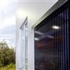 UBAB Solvägg integrerade solpaneler