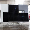 UBAB Solvägg med integrerade solpaneler