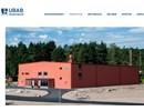 UBAB idrottsanläggningar på webbplats