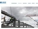 UBAB pelare och balkar på webbplats