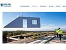 UBAB ytterväggar på webbplats