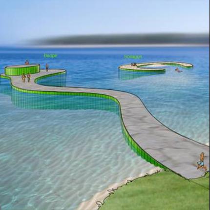 AQVIS Miljöspont® för badstränder