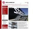 Raka trappor på webbplats