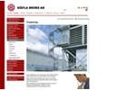 Häfla Bruks utrymningstrappor på webbplats
