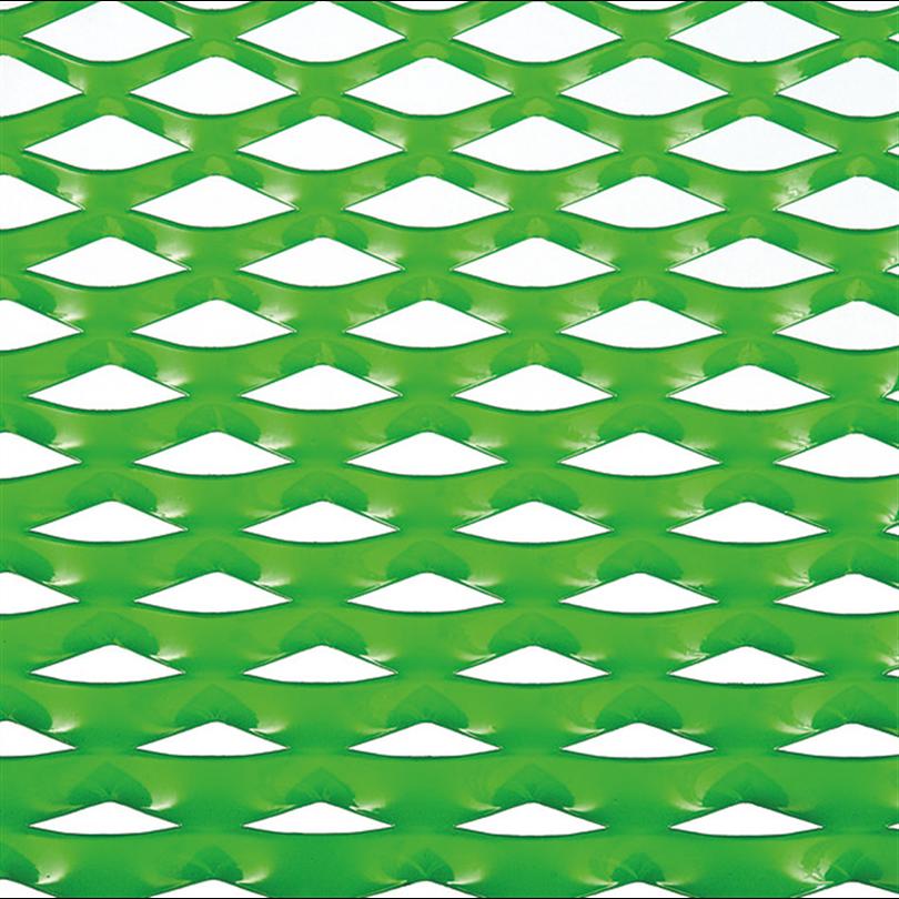 Grön Flexmetall med variabel maska i varje steg
