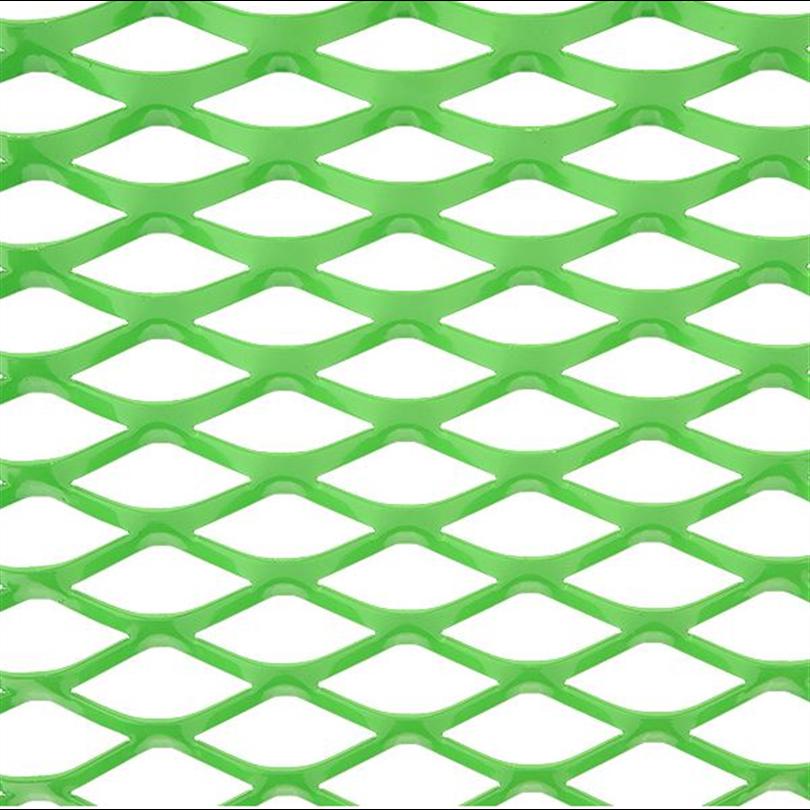 Häfla Bruks sträckmetall, pulverlackerad grön