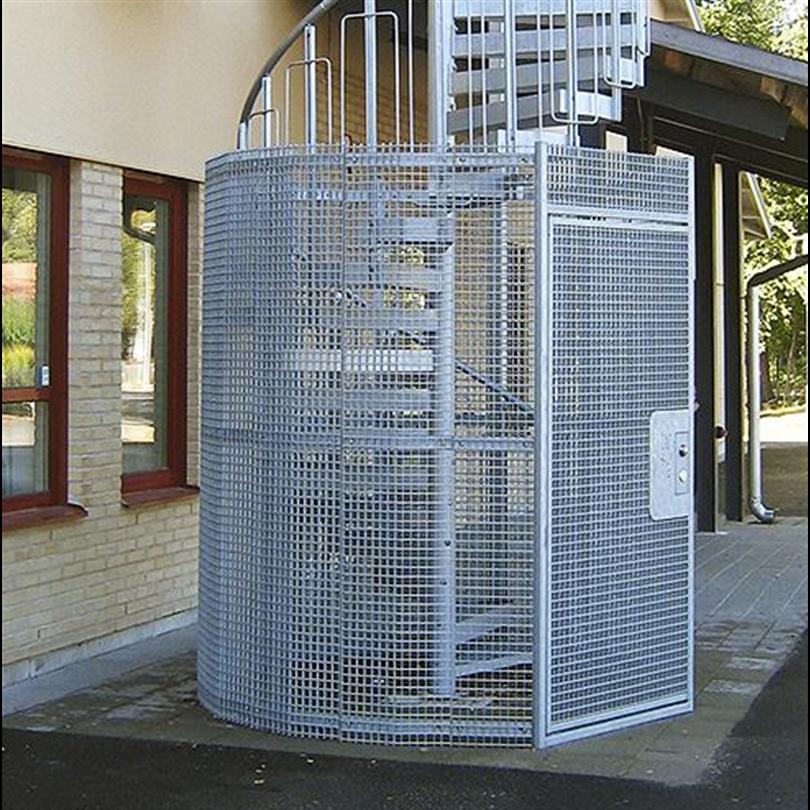 Häfla Brukds skyddsbur av gallerdurk