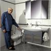 Etac Ställbar Supporter toalettarmstöd