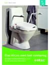 Etac Hi-Loo fast toalettsittsförhöjare