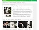 Etac Rex toalettarmstöd på webbplats