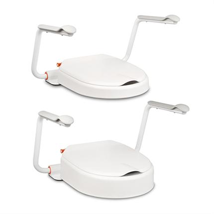 Etac Hi-Loo fasta toalettsittsförhöjare i två höjder