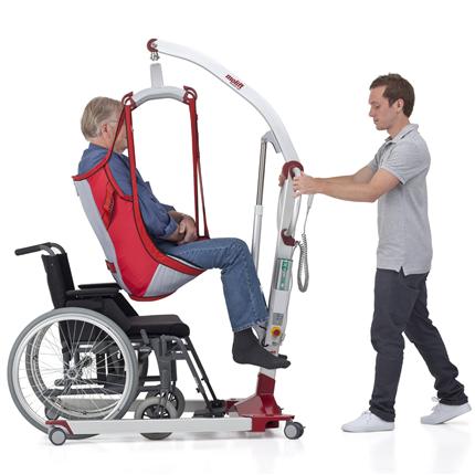 Mobil personlyft, kompakt lyft, stort lyftspann, i aluminium, ergonomiska lyft, service tool,